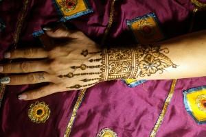 Henna festés kézre